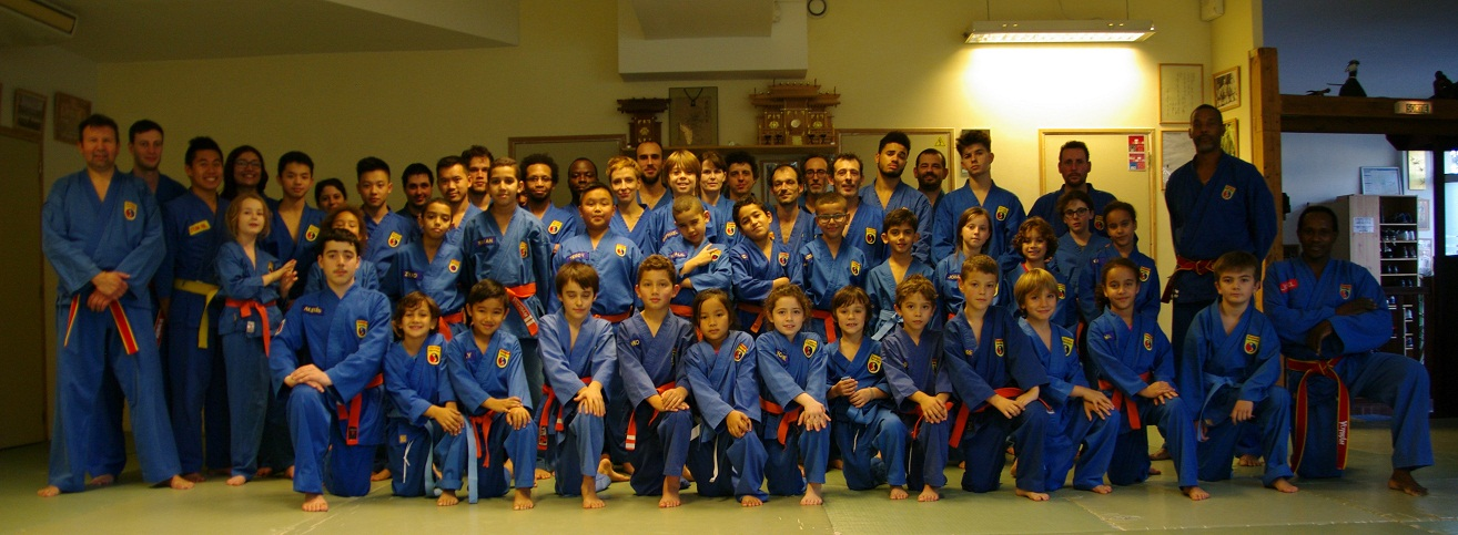 Photo groupe stage combat 15 novembre 2015 réduite
